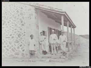 1880-1890年间拍摄的鼓岭高士威别墅(来源:高士威的照片集,布里斯托尔大学藏)