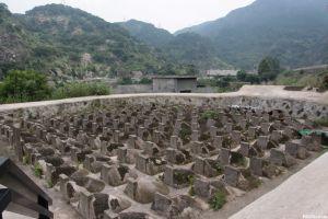 戌守台湾将士墓群(林陶江2015年拍摄)