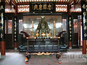 蔡忠惠公祠祭厅(蔡忠惠公祠拜亭中)(来源:严可清摄于2009年5月)