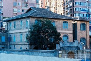 修缮后的程埔头林森公馆全景(来源:池志海摄于2016年3月)