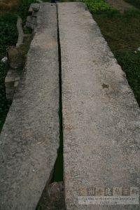 连坂桥桥面(俯拍)(来源:严可清摄于2009年6月)