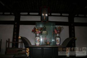 吴山耕藏祠主殿(从南到北)(来源:严可清摄于2009年6月)