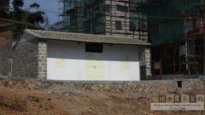 在原址重建后的鼓岭邮局(林陶江摄于2012.09)