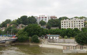 俯视观井路(林陶江摄于2009.10)