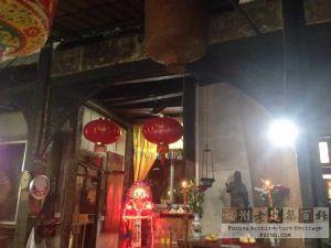 花厅挂落(红衣棒糖人摄于2015年5月)