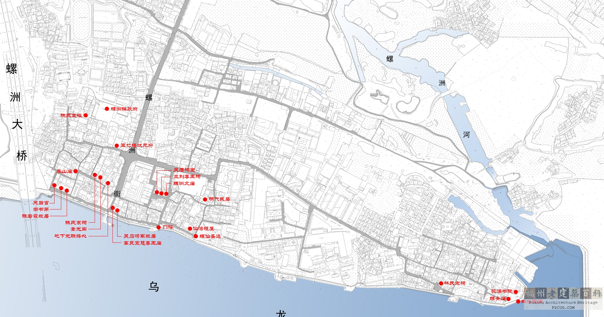 螺洲镇地图