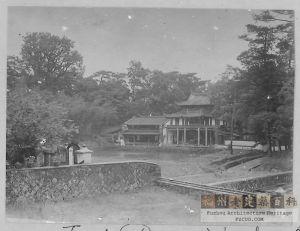 1910-1920年代拍摄的涌泉寺回龙阁(来源:GCAH)