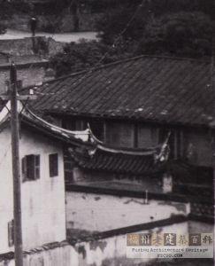 1920年代的竹梅山馆(来源:池志海翻拍自福师大档案馆)