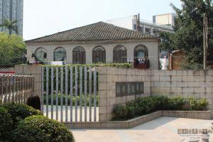 法国领事馆建筑东面局部(林陶江摄于2019年3月)