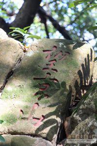 冶山摩崖石刻(林陶江摄于2015年)