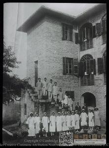1929年竣工的柴井医院女部(来源:剑桥大学图书馆)