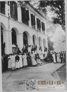 福建协和大学学生合影,照片大约拍摄于1919年,来自UMCDigitalGalleries。